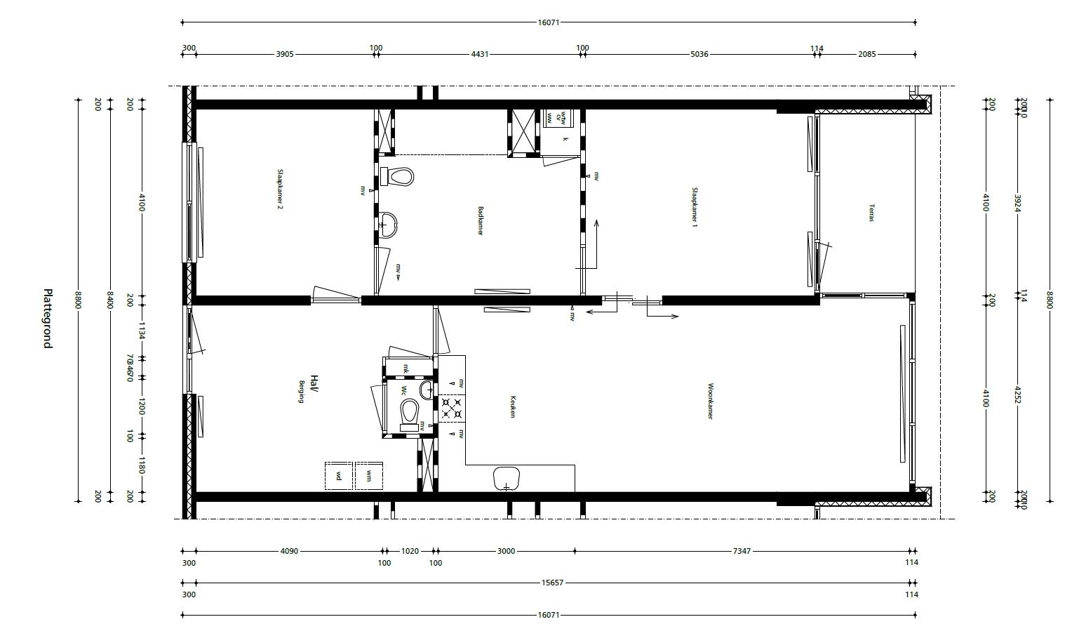 Beethovenstraat, plattegrond (D, 13-05-14)