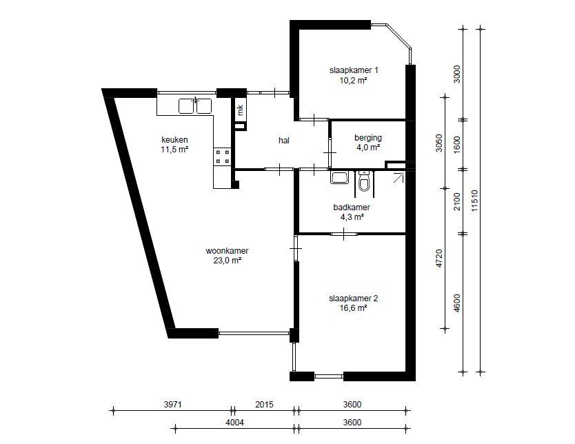 Middelburg, Hof van Sint Jan (B 13-12-18)