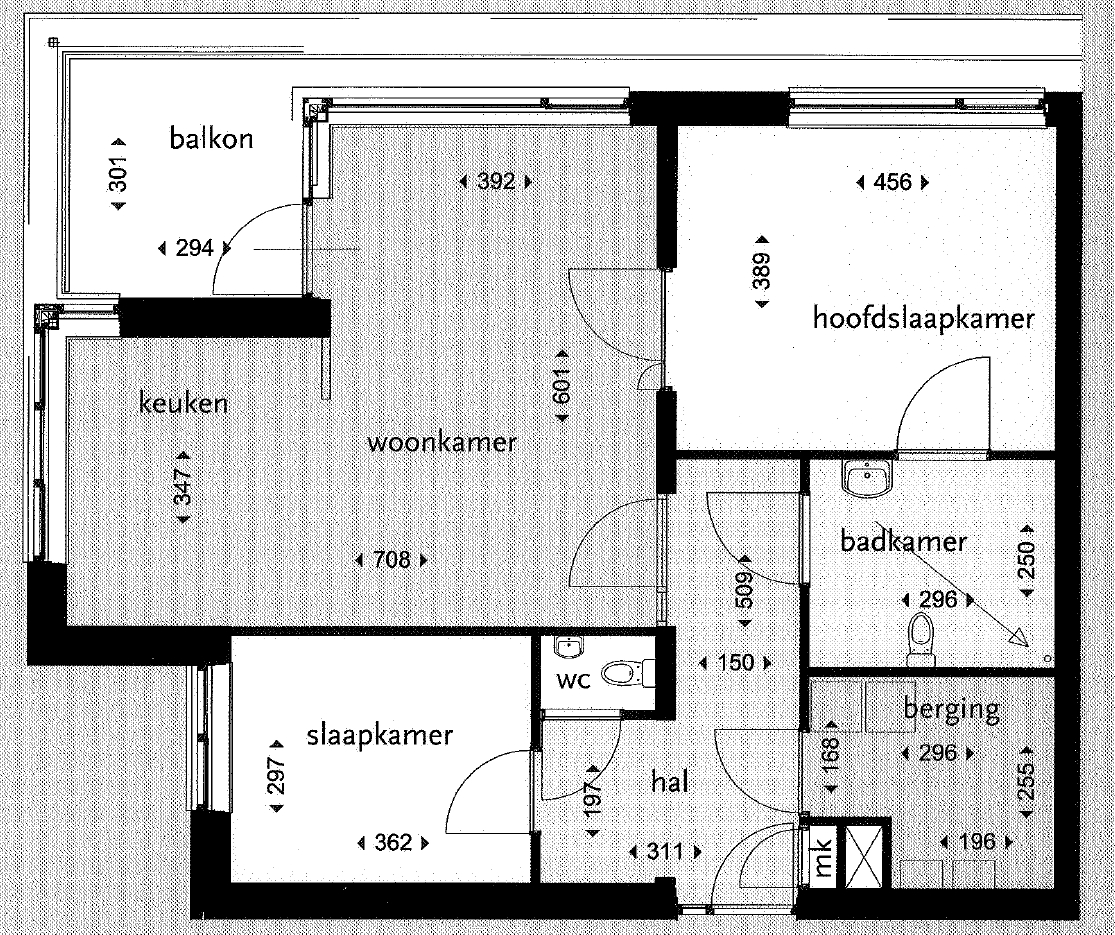 Sittard, Clotildestraat plattegrond (HA 04-04-14)
